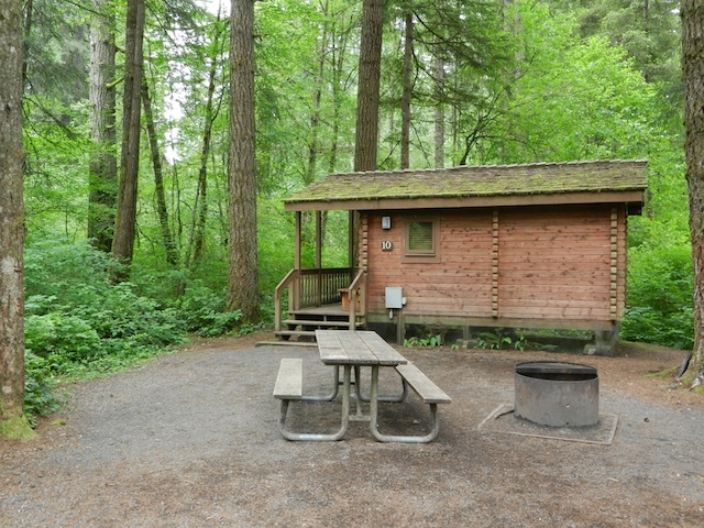 Silver Falls State Park Oregon Map.A Rustic Cabin Stay At Silver Falls State Park Oregon Pitstops