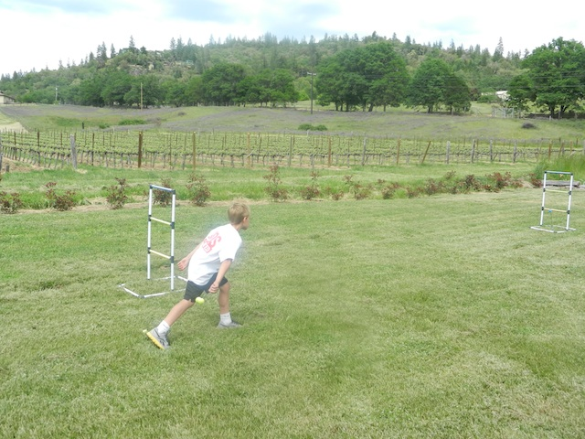 lawn games at wineries
