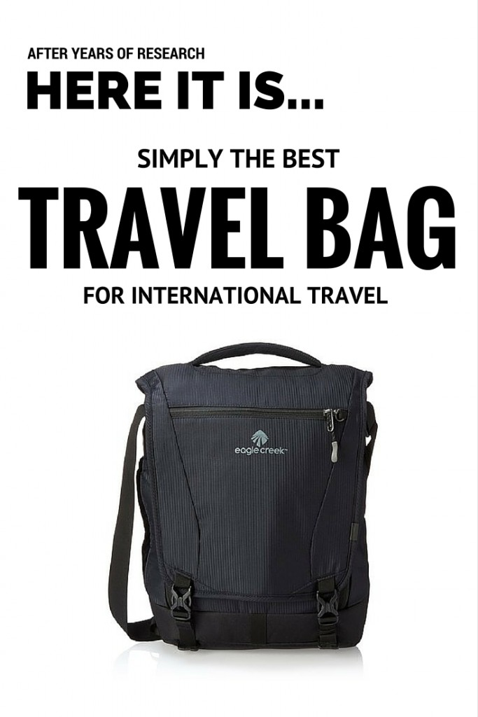 Best travel bag for international travel: we reviewed it!